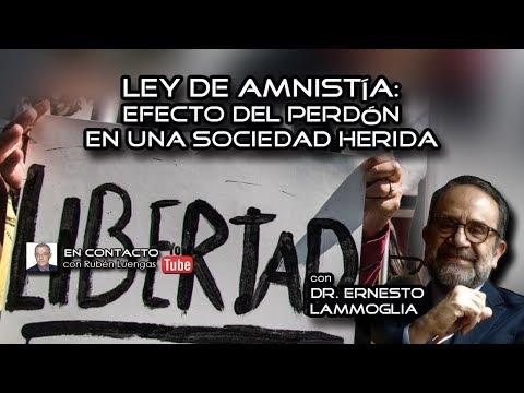Ley de Amnistía: Efecto del perdón en una sociedad herida | Rubén Luengas EnContacto | ENVIVO