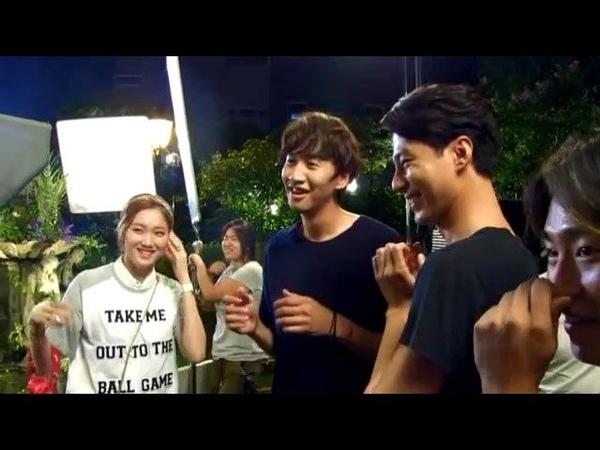 [Vietsub Engsub] Jo In Sung watched Lee Kwang Soo Lee Sung Kyungs kiss scene