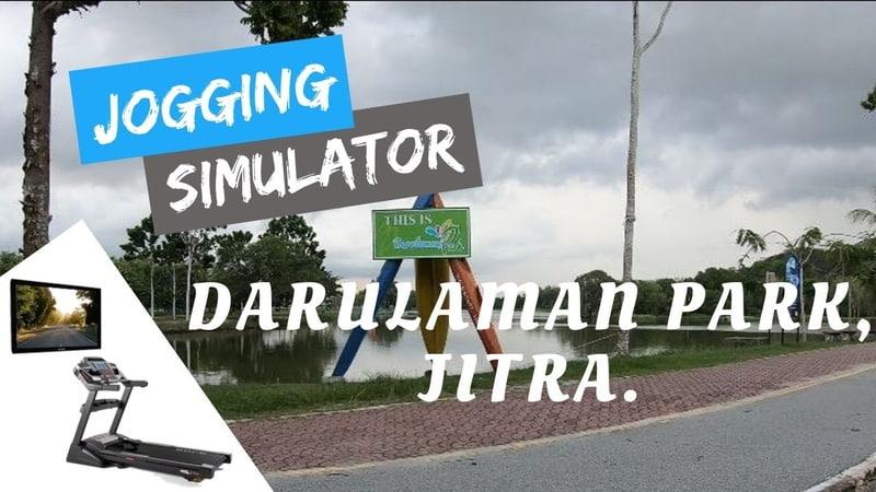 Treadmill Workout - Virtual Run - Jogging Simulator - Exercise Machine | Darulaman Park Jitra Kedah