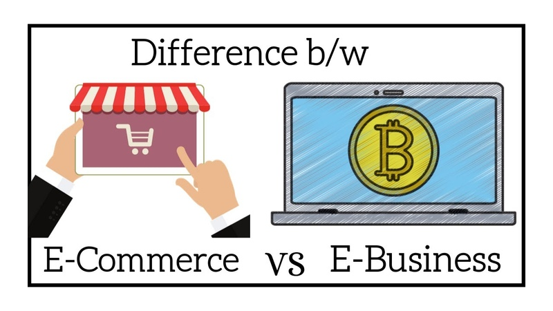 Difference Between eCommerce and eBusiness for Entrepreneur Geoflypages