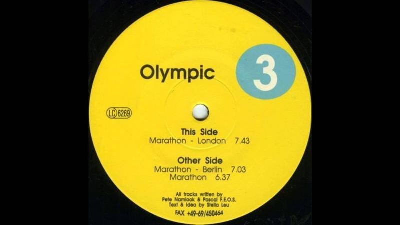 Olympic - Marathon (Trance 1993)