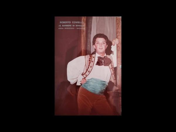 Roberto Coviello baritono - Io postposto ad un Torquato - Torquato Tasso - G. Donizetti