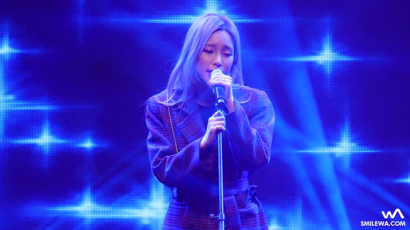 171117 Heize - The Star (저 별) @ Hongcheon Soldiers Day