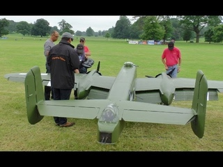 GIANT 1/3.3 SCALE  RC B-25 MITCHELL 2 X 400 cc MOKI 5 CYL WESTON PARK 2014 - LEGENDARY FIGHTERS # 2