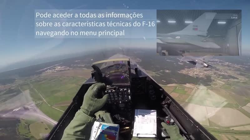 NO CÉU em F16 da FAP. Expresso