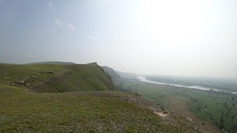 Прогулка на гору Изых. Вид с высоты 4К. Давняя мечта