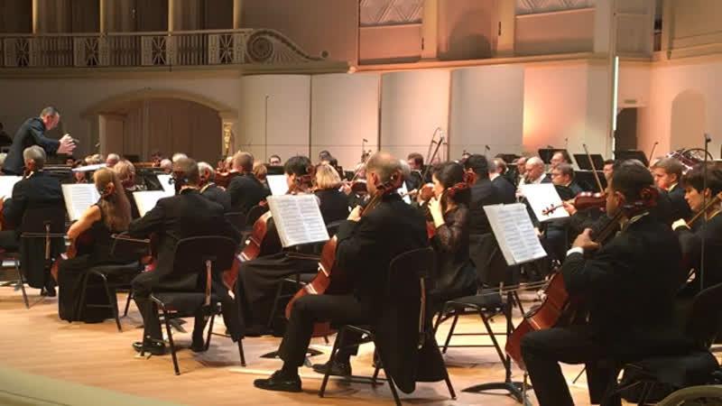 """Стравинский. Stravinsky. """"Pas de deux"""" из Дивертисмента-оркестровой сюиты из музыки балета «Поцелуй феи» 🧚♂️ . КЗЧ"""