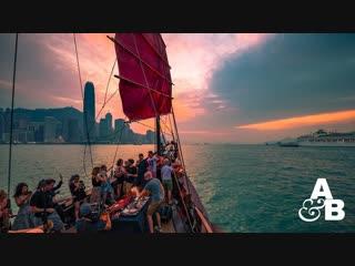 Deep house presents above beyond deep warm up set #abgt300 live on victoria harbour, hong kong #liveset@deephouse_top