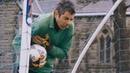 Rowan Atkinson at goal (Movie title: Keeping Mum)