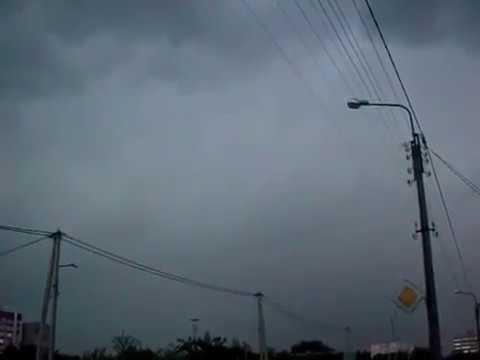 Гроза в Гомеле с опасно близким ударом молнии 1 июля 2014 Meteothica