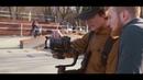 Test 2 of first in Ukraine Zhiyun Crane 3 Lab. Mirrorless stabilizer review. MTB street park