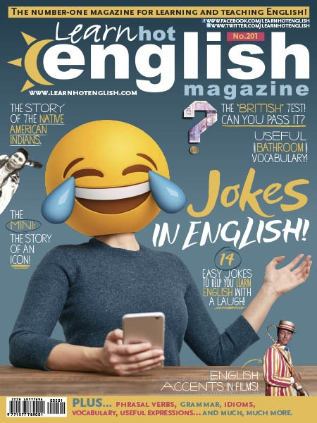 Learn Hot English  Issue 201  February 2019