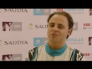 AdDiriyahEprix [sound ON] Today MassaFelipe19 was the very first one to drive a FE car here - 81 days before the race! ️ VENTURI