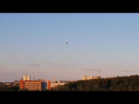 ПТЗ, в гостях у Сергея, мой полет на Gaui X3