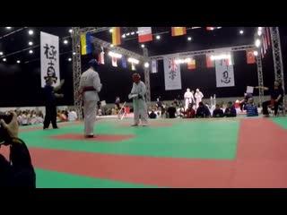 Knockout european kyokushin karate championships