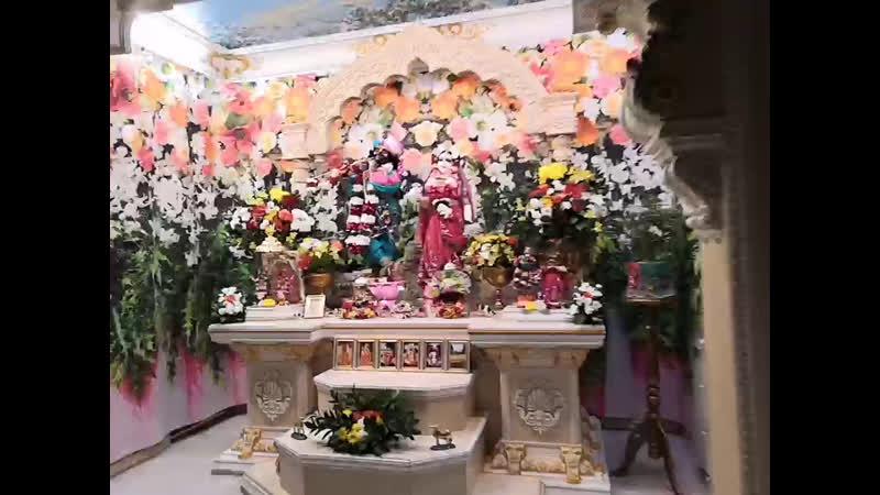 Даршан Первых и Несравненных Российских Божеств Шри Шри Радха Говинда 16 11 19