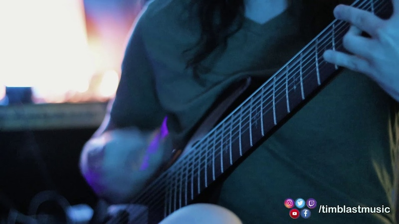 Quick 9 String Guitar Improvisation Hellraiser Schecter KEMPER 5150 TONE Capitol Chambers Reverb