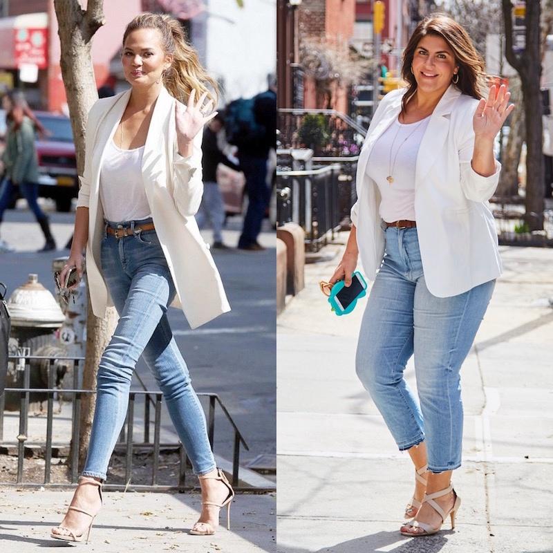 Не нужно быть худой, чтобы выглядеть как с картинки: модный блогер примеряет наряды звезд на 52 размер