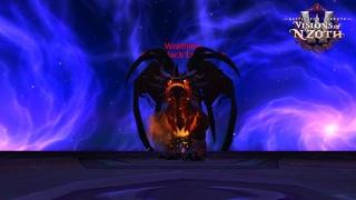 Wrathion the Black Emperor Kill Heroic - Ny'alotha Raid 8.3