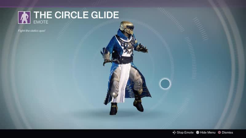 Destiny 20190530 UZOR Warlock v41 THE CIRCLE GLIDE