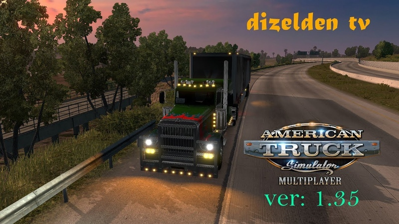ATS MP | Peterbilt 389 - american truck simulator | LIVE №2249