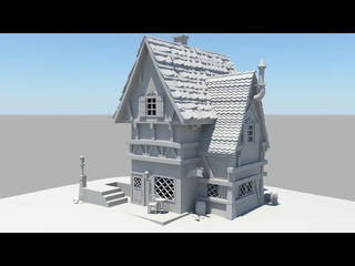 Autodesk Maya 2014 Tutorial Old House Modeling Part 8