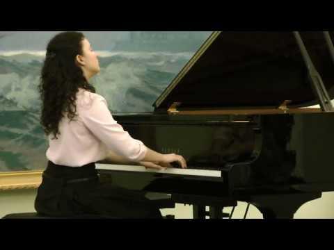 П. Чайковский Думка op.59 исполняет Анастасия Качур (ф-но)