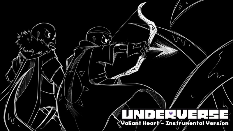 Underverse OST Valiant Heart Instrumental Version