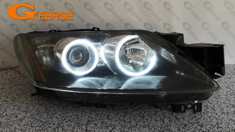 For Mazda cx 7 CX 7 2006 2007 2008 2009 2010 2011 2012 Excellent Ultra bright illumination CCFL Angel Eyes kit Halo Ring