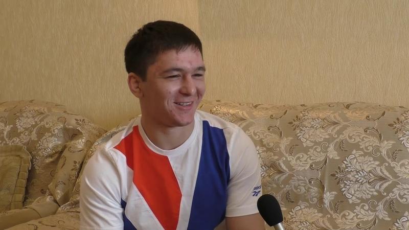 Один день с чемпионом Тамерланом Кулаевым