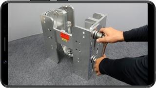 Подъёмник мотора ручной вертикальный до 300 л с
