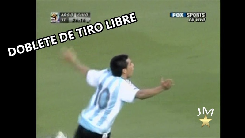 El dia que Riquelme le dio una clase de Futbol a todo Chile (Eliminatorias Mundial 2010)