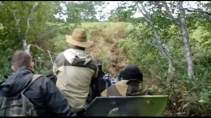 Остров Итуруп: Вид с вездехода
