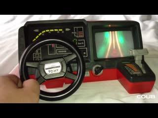 懐かしのドライビングターボ tomy (turnin turbo dashboard)