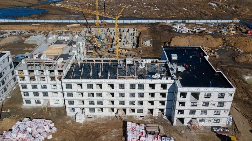 Отчет о ходе строительства апрель 2020 квартал «Среда», изображение №2