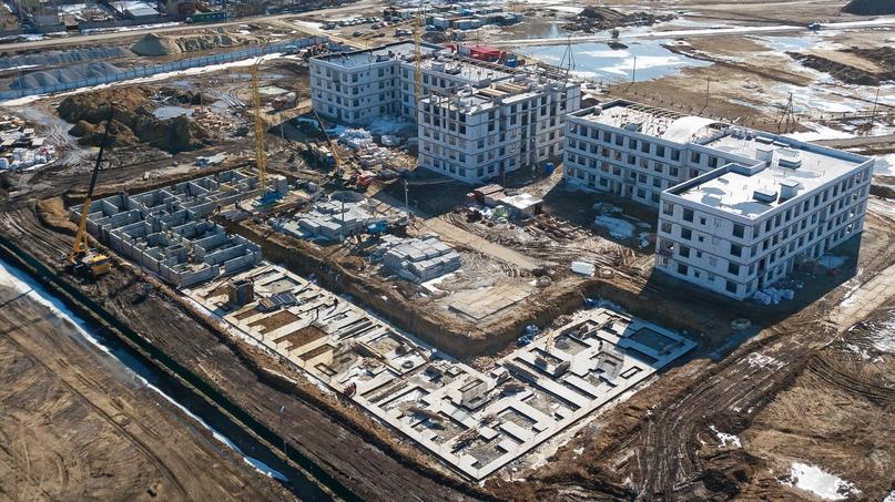 Отчет о ходе строительства апрель 2020 квартал «Среда», изображение №16