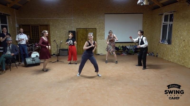 Altay Swing Dance Camp 2019. Short Case. Solo Jazz