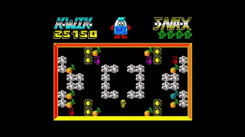 Kwik Snax Walkthrough ZX Spectrum