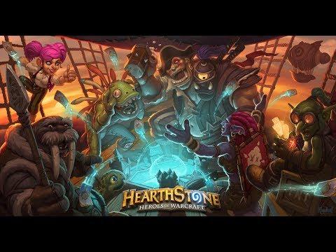 Hearthstone №12 1 Нулевой аккаунт Чуть переделываем Охотника Аренка вечерние картишки