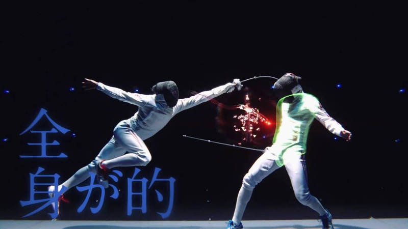 Yuki Ota Fencing Visualized Project - MORE ENJOY FENCING(English Ver.)