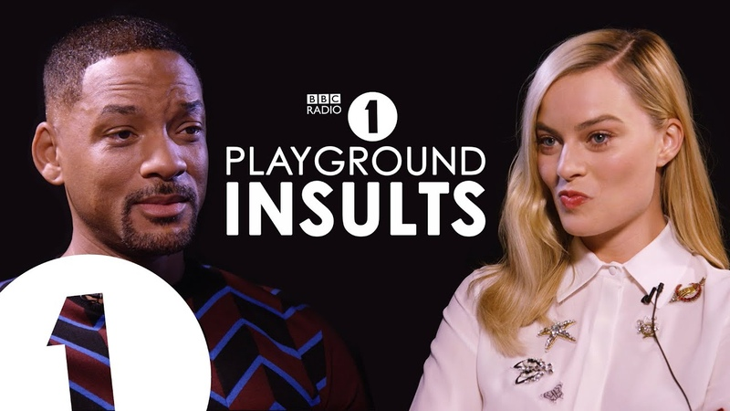 Will Smith Margot Robbie Insult Each Other CONTAINS STRONG LANGUAGE