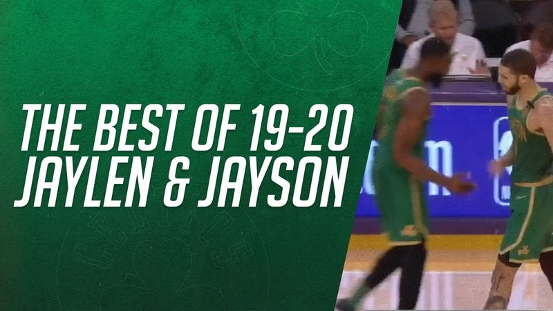 Best of 2019 20 Jaylen Brown Jayson Tatum