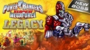 POWER RANGERS Super Megaforce Cybax vs Yellow Ranger New game LEGACY with Andryukha