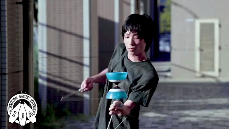 IJA Tricks of the Month by Hiroki Kamei from Japan Diabolo