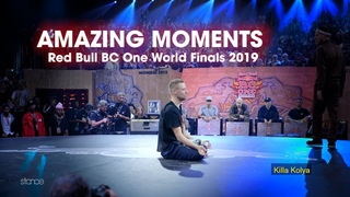 Amazing Moments at RED BULL BC ONE WORLD FINALS 2019 🏆 // .stance