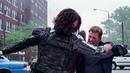 Captain America Vs The Winter Soldier - Captain America The Winter Soldier (2014)