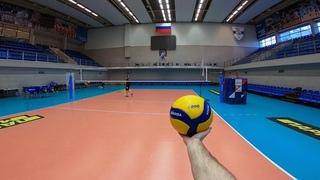 Волейбол от первого лица | VOLLEYBALL FIRST PERSON TRAINING | ZENIT ST. PETERSBURG|LIBERO|56 episode