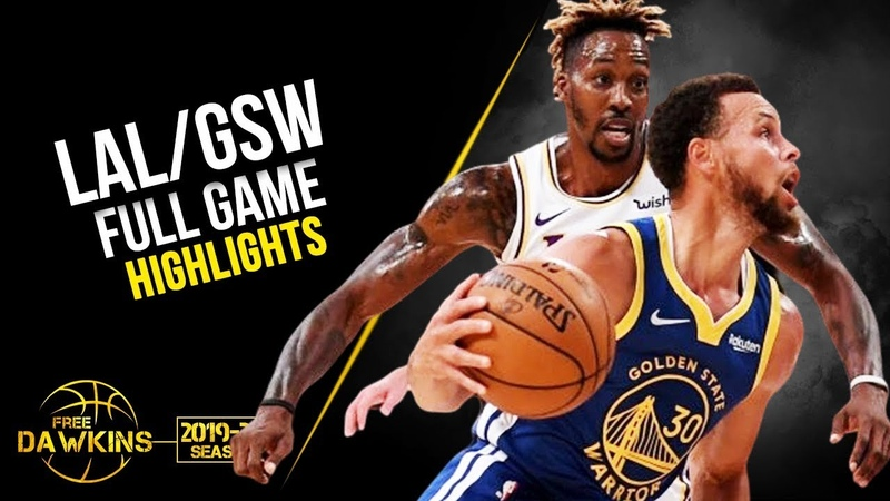 Los Angeles Lakers vs Golden State Warriors Full Game Highlights | October 14, 2019