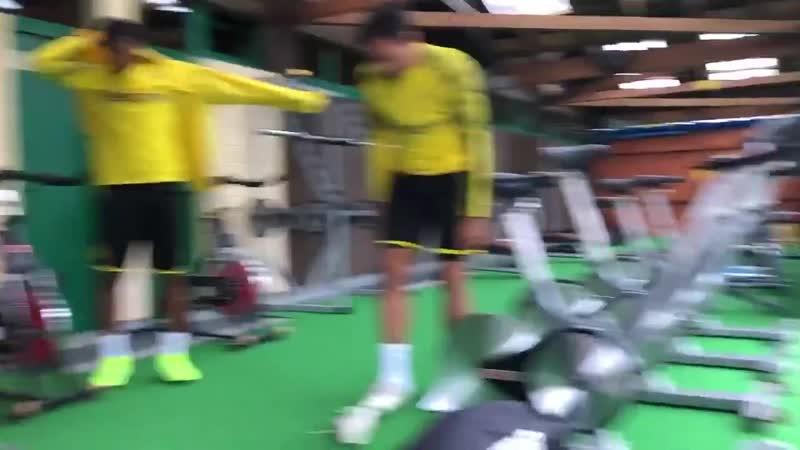 Тренировка в Бад-Рагаце
