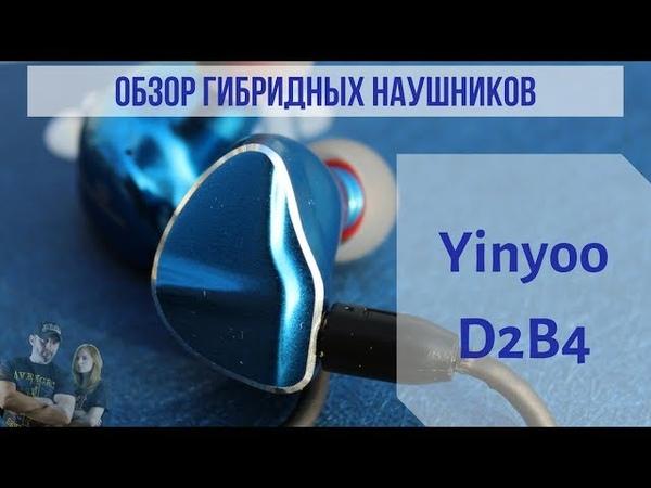 Обзор гибридных наушников Yinyoo D2B4 Инопланетные красавцы
